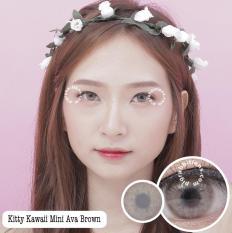 Spesifikasi Kitty Kawaii Mini Ava Brown Softlens Minus 5 50 Gratis Lenscase Merk Kitty Kawaii
