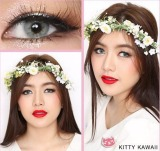 Harga Kitty Kawaii Mini Ava Grey Softlens Minus 50 Gratis Lenscase Indonesia