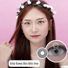 Jual Kitty Kawaii Mini Milin Grey Softlens Minus 4 00 Gratis Lenscase Kitty Kawaii Branded