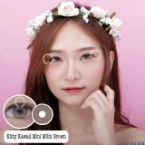Toko Kittykawaii Mini Milin Brown Softlens Minus 1 25 Gratis Lenscase Kitty Kawaii Indonesia