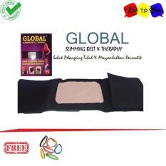Klik Korset Pelangsing Tubuh / Perut - Global Slimming Belt Sabuk Kesehatan - 1 Pcs + ikat rambut