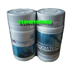 Pusat Jual Beli Kliniksunnah Kombinasi Herbal Minyak Ikan Hiu Omega Squa K Link Original Salmon Fish Lever Oil Squalene Dki Jakarta