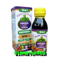 Kliniksunnah_Madu 10 in 1 Kurma, Manggis Plus propolis - 125ml