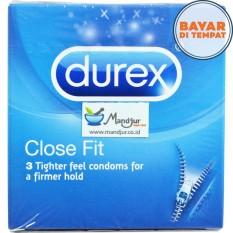 Kondom Durex Close Fit - Isi 3