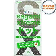 Beli Kondom Sagami Xtreme Dotted Isi 10 Pakai Kartu Kredit