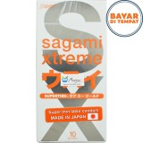 Spesifikasi Kondom Sagami Xtreme Superthin Isi 10 Lengkap