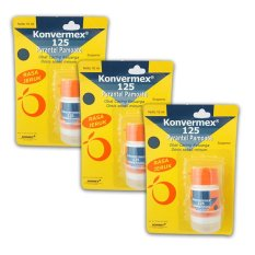 Konvermex 125 mg Susp 10ml ( 3 Botol)
