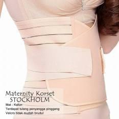 Korset Pelangsing Setelah Melahirkan Maternity Korset Stockholm Shrink Belly Cream Promo Beli 1 Gratis 1