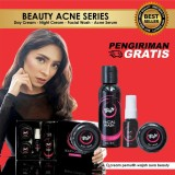 Jual Krim Cream Wajah Pemutih Wajah Glowing Whitening Night Cream Day Cream Dan F*c**l Wash Satu Set