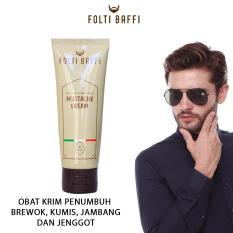 Harga Krim Jenggot Penumbuh Jambang Cream Brewok Obat Penumbuh Kumis Folti Baffi Mustache Cream Penumbuh Bulu Di Wajah Untuk Pria Folti Baffi Jawa Timur