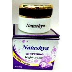 Katalog Krim Malam Night Cream Natashya Paket 2Pcs Terbaru