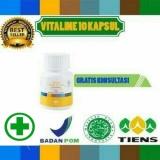 Diskon Krim Pemutih Wajah Herbal Alami Vitaline Softgel Tiens 10 Kapsul