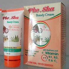 Spesifikasi Krim Phe Sha Pemutih Wajah 1 Botol Dijamin Original Yang Bagus Dan Murah