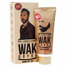 Krim Wak Doyok 100 Original Penumbuh Jambang Kumis Rambut Obat Penumbuh Kumis Dan Jenggot Herbal Diskon 40