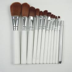 Katalog Polkadope Kuas Kemasan Kaleng Make Up Brush Set 12 Pcs Terbaru
