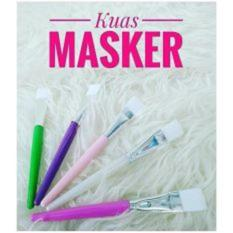 Kuas Makeup - Kuas Masker Untuk Wajah Brush Mask - Random Colour