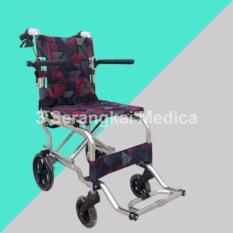 Kursi Roda Travelling/Umroh/Haji Aluminium Merk Avico