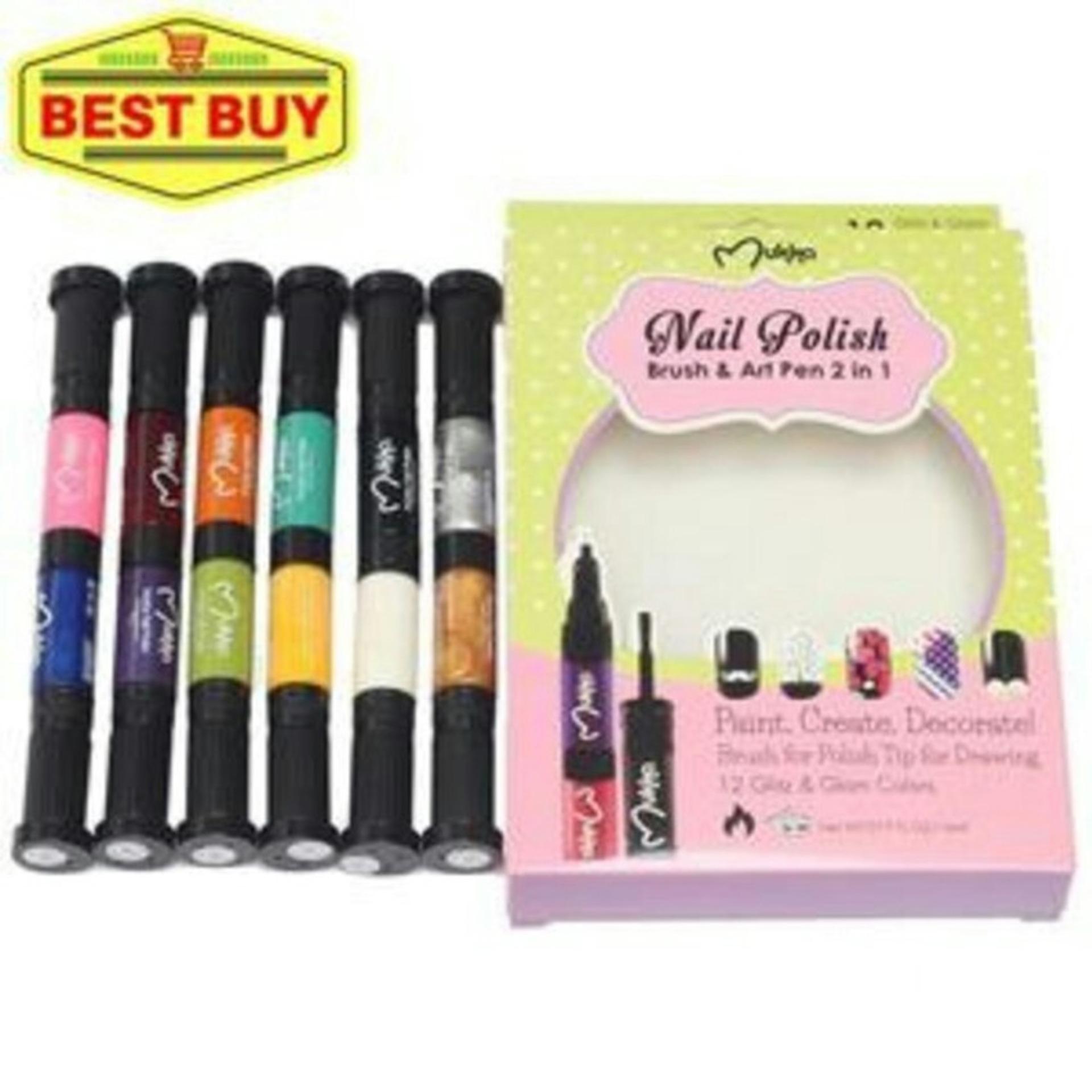 Harga preferensial Kutek pensil n kuas 2in1 Mukka Set beli sekarang - Hanya  Rp49.075 f25842a168
