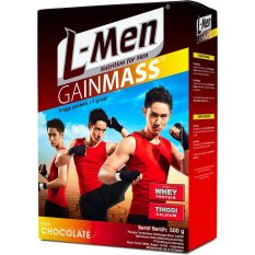 Toko L Men Gain Mass Chocolate 500Gram X 2 Pieces L Men Indonesia