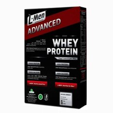 L Men Hi Protein Whey Advanced Choco Vanila 500 Gram Original
