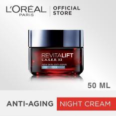 Spesifikasi L Oreal Paris Dermo Expertise Revitalift Laser X3 Night Cream 50Ml Bagus