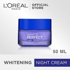 Harga L Oreal Paris Dermo Expertise White Perfect Melanin Vanish Night Cream Krim Malam Anti Aging 50Ml Termurah