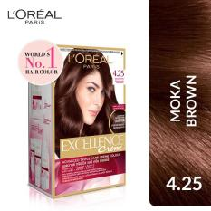 Harga L Oreal Paris Excellence Creme 4 25 Iride Mahogany Brown Moka Brown Baru Murah