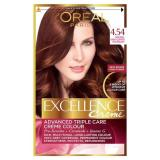 Review Tentang L Oreal Paris Excellence Creme Hair Color No 4 45 Mahogany Copper Brown
