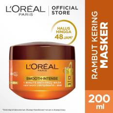 Review L Oreal Paris Smooth Intense Hair Mask 200 Ml Terbaru