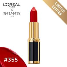 Toko L Oreal Paris X Balmain Matte Lipstick 355 Domination Limited Edition Online