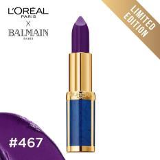 Jual L Oreal Paris X Balmain Matte Lipstick 467 Freedom Limited Edition Satu Set