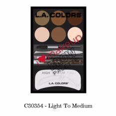 LA Colors I Heart Makeup Brow Palette