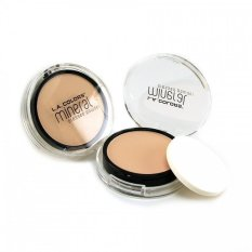 Harga La Colors Mineral Pressed Powder Cmp305 Natural Beige Fullset Murah