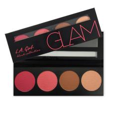LA Girl Beauty Brick Blush Glam - Blush On, Bronzer, Highlighter, Contour, Warna Alami