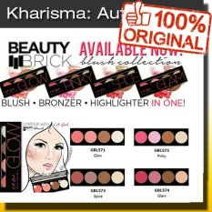 La Girl Beauty Brick Blush - Ori Usa - K-Lg-Bl - GLOW