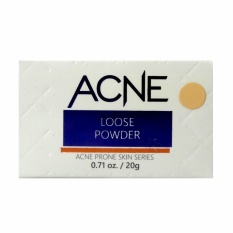 Spesifikasi La Tulipe Acne Loose Powder Suntan 25G