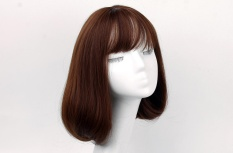 Ladies Long Section In The Blooming Fashion Wig Sets Light Brown Intl Indonesia Diskon 50