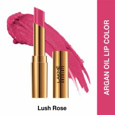 Spek Lakme Absolute Reinvent Argan Oil Lip Color Lush Rose Lakme