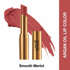 Spek Lakme Absolute Reinvent Argan Oil Lip Color Smooth Merlot Indonesia