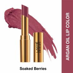 Beli Lakme Absolute Reinvent Argan Oil Lip Color Soaked Berries Dengan Kartu Kredit
