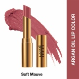 Spesifikasi Lakme Absolute Reinvent Argan Oil Lip Color Soft Mauve Dan Harganya