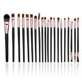 Jual Lalang 20 Buah Set Alat Makeup Sikat Kuas Kosmetik Mawar Emas Online