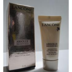 Lancome Absolue Precious Cells Revitalizing Night Ritual Mask 5ml