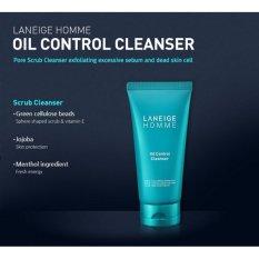 Laneige Homme Oil Control Cleanser 150Ml Laneige Diskon 50