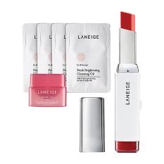 Jual Laneige Twotone Lip Bar No 12 Maxi Red Hadiah Gratis Baru
