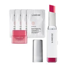 Harga Laneige Twotone Lip Bar No 14 Dear Pink Hadiah Gratis Termurah