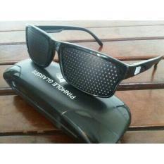 Lanjarjaya Kacamata Terapi Pinhole glasses tipe Tp-01 (bonus box)