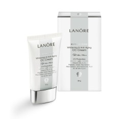 Model Lanore Whitening And Anti Aging Cc Cream Spf 40 Pa Light Beige 30 Gr Terbaru