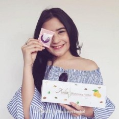 Laris 102 - 12 Sachet Aulia Sliming Herbal By Artis Shandy Aulia - Rasa STRONG