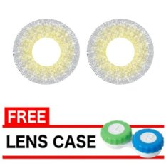 Latin 3 Tone Softlens 20.8mm - Grey + Gratis Lens Case
